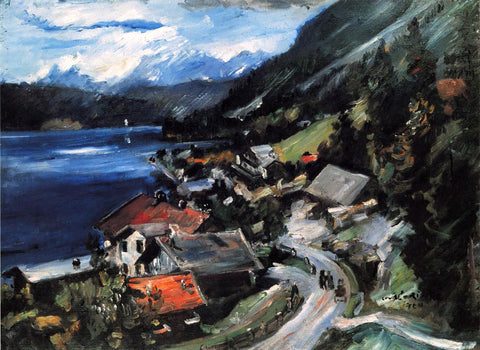 Lovis Corinth The Walchensee, Serpentine - Hand Painted Oil Painting
