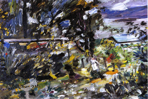 "Lovis Corinth The Walchensee, ""Silberweg"" - Hand Painted Oil Painting"