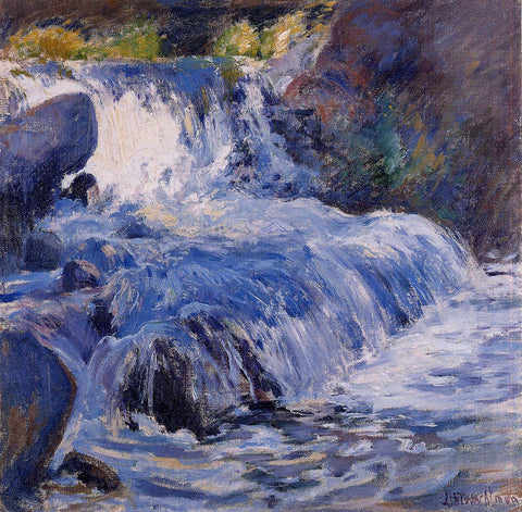 John Twachtman The Waterfall - Hand Painted Oil Painting