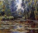 Claude Oscar Monet A Water-Lily Pond and Bridge - Hand Painted Oil Painting