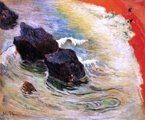 Paul Gauguin The Wave - Hand Painted Oil Painting