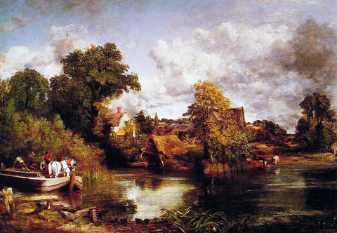 John Constable The White Horse - Hand Painted Oil Painting