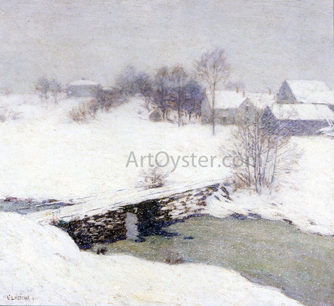Willard Leroy Metcalf The White Mantle - Hand Painted Oil Painting