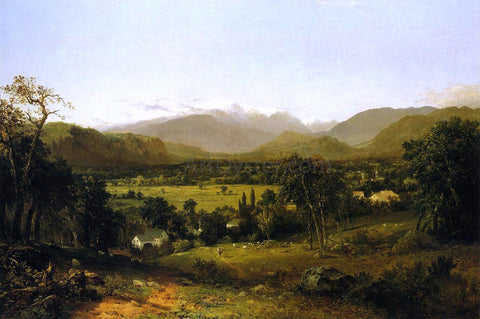John Frederick Kensett The White Mountains (also known as Mount Washington from the Valley of Conway) - Hand Painted Oil Painting