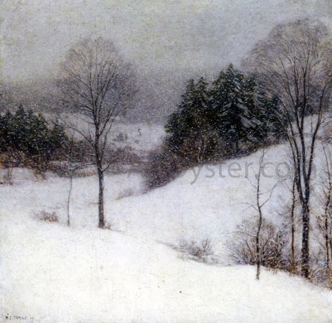 Willard Leroy Metcalf The White Veil - Hand Painted Oil Painting