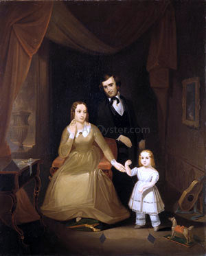 John Mix Stanley The Williamson Family - Hand Painted Oil Painting