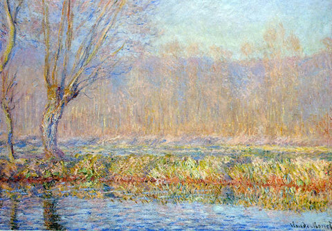 Claude Oscar Monet The Willow (also known as Spring on the Epte) - Hand Painted Oil Painting