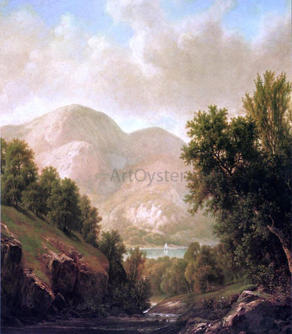William Mason Brown The Winding Stream - Hand Painted Oil Painting
