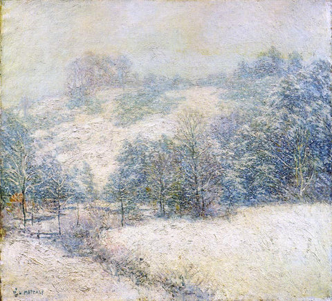 Willard Leroy Metcalf The Winter's Festival - Hand Painted Oil Painting