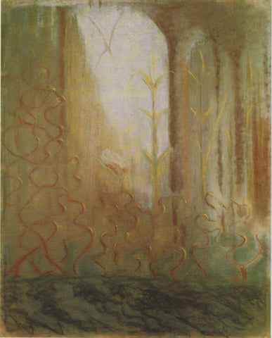 Mikalojus Ciurlionis The Worlds of Mars - Hand Painted Oil Painting
