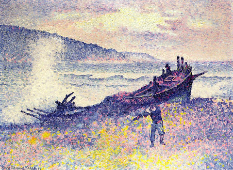 Henri Edmond Cross The Wreck - Hand Painted Oil Painting