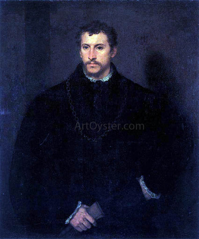 Titian The Young Englishman - Hand Painted Oil Painting