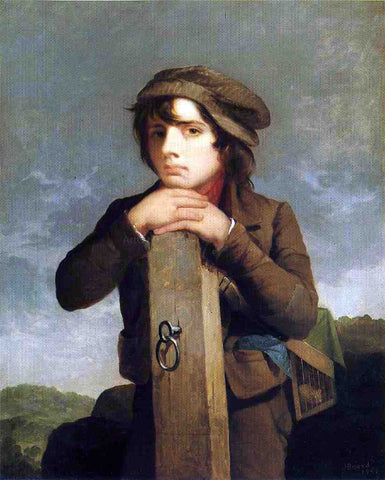 James Henry Beard The Young Itinerant - Hand Painted Oil Painting