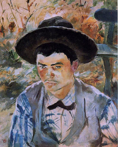 Henri De Toulouse-Lautrec The Young Routy in Celeyran - Hand Painted Oil Painting