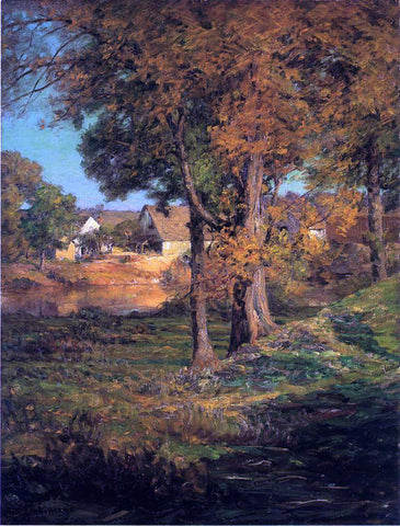 John Ottis Adams Thornberry's Pasture Brooklyn, Indiana - Hand Painted Oil Painting