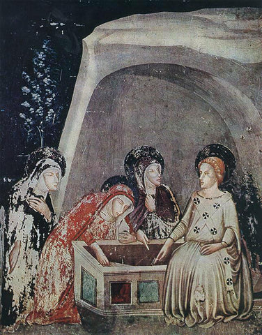 Ferrer Bassa Three Women at the Tomb - Hand Painted Oil Painting