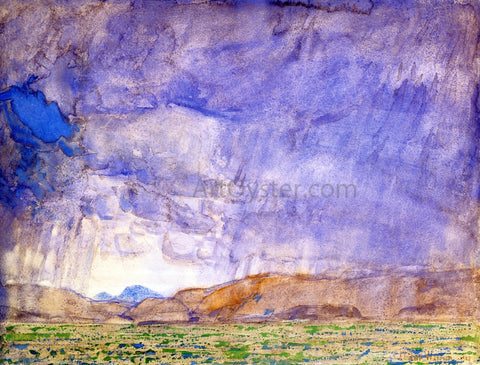 Frederick Childe Hassam Thunderstorm on the Oregon Trail - Hand Painted Oil Painting