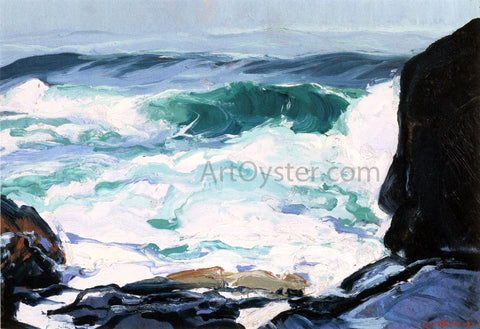 George Wesley Bellows Tide Ledge - Hand Painted Oil Painting