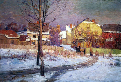 Theodore Clement Steele Tinker Place - Hand Painted Oil Painting