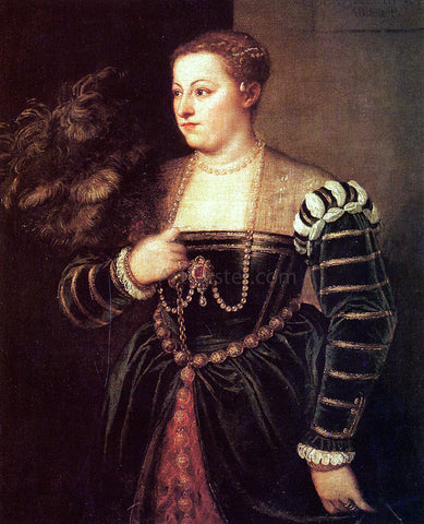 Titian Titian's daughter, Lavinia - Hand Painted Oil Painting
