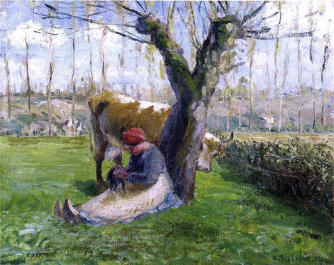 Camille Pissarro Title Unknown - Hand Painted Oil Painting