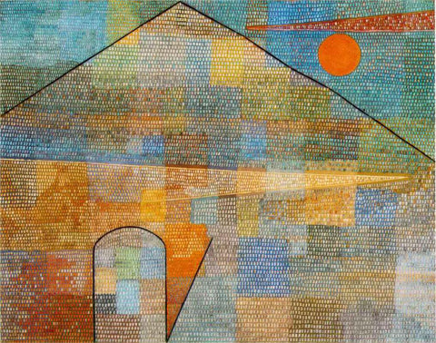 Paul Klee To the Parnassus - Hand Painted Oil Painting