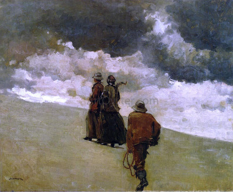 Winslow Homer To the Rescue - Hand Painted Oil Painting