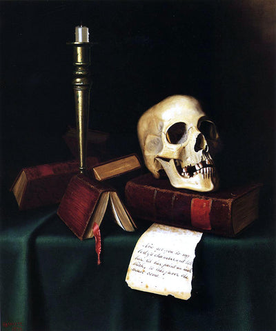 William Michael Harnett To this Favor - A Thought from Shakespeare - Hand Painted Oil Painting