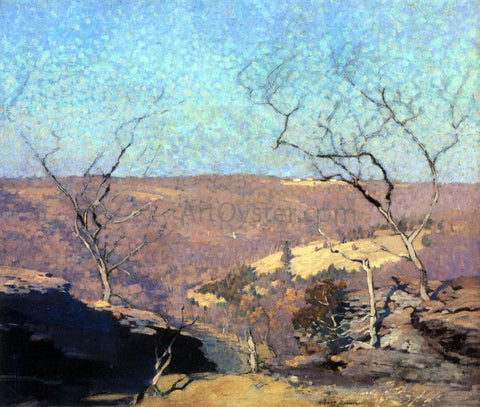 Robert Spencer Tohicken Valley, Point Pleasant, Pennsylvania - Hand Painted Oil Painting
