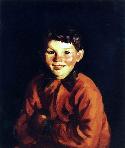 Robert Henri Tommy (Thomas Cafferty) - Hand Painted Oil Painting