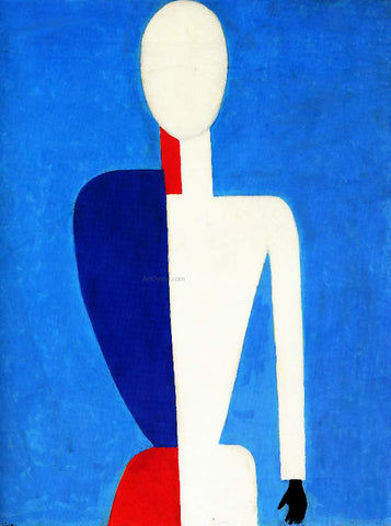 Kazimir Malevich Torso - Hand Painted Oil Painting