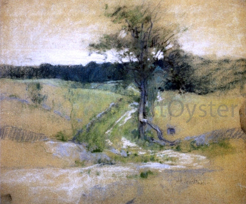 John Twachtman Tree by a Road - Hand Painted Oil Painting