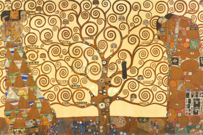 Gustav Klimt A Tree of Life - Hand Painted Oil Painting