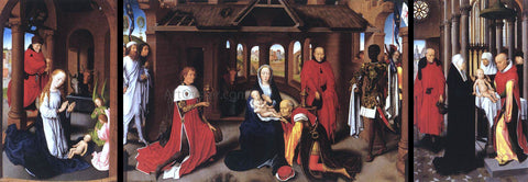 Hans Memling Triptych - Hand Painted Oil Painting