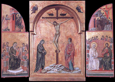 Duccio Di Buoninsegna Triptych - Hand Painted Oil Painting