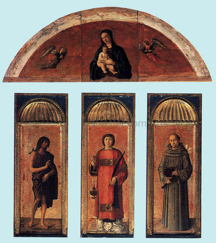 Jacopo Bellini Triptych of St Lawrence - Hand Painted Oil Painting