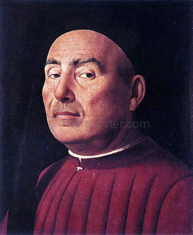 Antonello Da Messina Trivulzio Portrait - Hand Painted Oil Painting