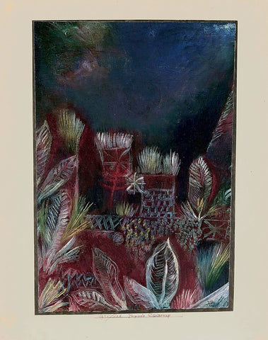Paul Klee Tropical Twilight - Hand Painted Oil Painting