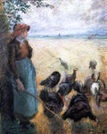 Camille Pissarro Turkey Girl - Hand Painted Oil Painting