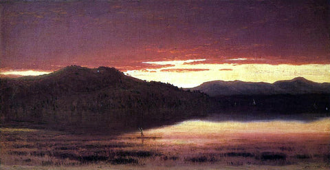 Sanford Robinson Gifford Twilight - Hand Painted Oil Painting