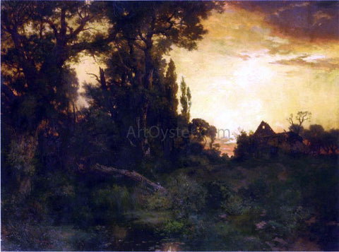Thomas Moran Twilight - Hand Painted Oil Painting