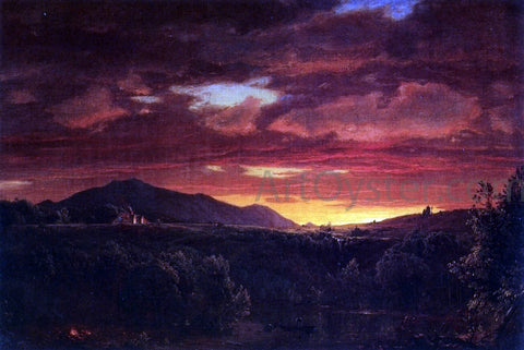 Frederic Edwin Church Twilight - Hand Painted Oil Painting
