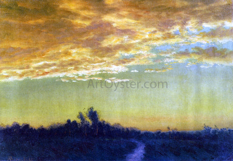 Albert Bierstadt Twilight over the Path - Hand Painted Oil Painting