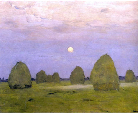 Isaac Ilich Levitan Twilight, Stacks - Hand Painted Oil Painting