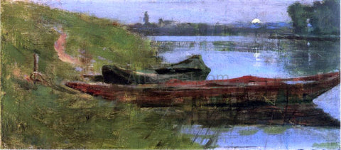 Theodore Robinson Two Boats - Hand Painted Oil Painting