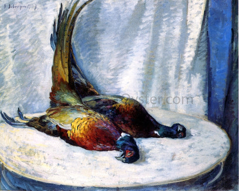Henri Lebasque Two Pheasants - Hand Painted Oil Painting