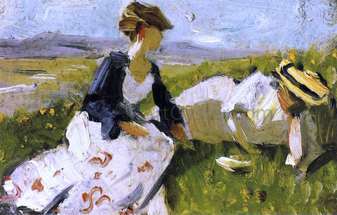 Franz Marc Two Women on the Hillside, Sketch - Hand Painted Oil Painting
