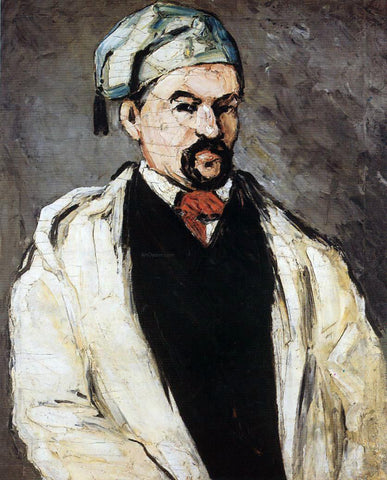 Paul Cezanne Uncle Dominique (also known as Man in a Cotton Hat) - Hand Painted Oil Painting