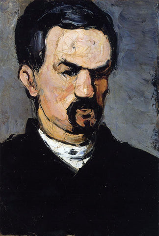 Paul Cezanne Uncle Dominique - Hand Painted Oil Painting