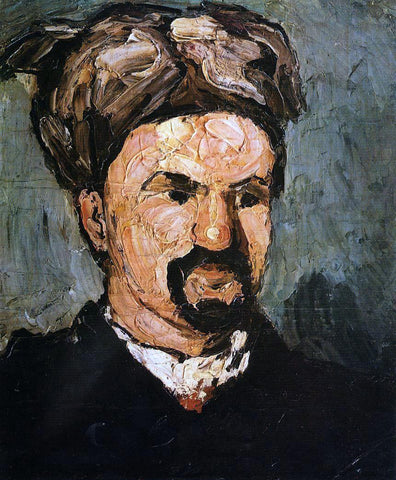 Paul Cezanne Uncle Dominique in a Turban - Hand Painted Oil Painting